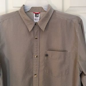 The North Face long sleeve button down shirt